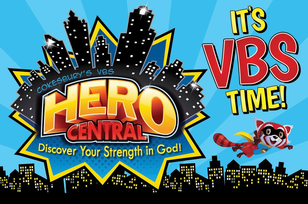 Journey to Hero Central Vacation Bible School at Sanctuary UMC June 5th-9th