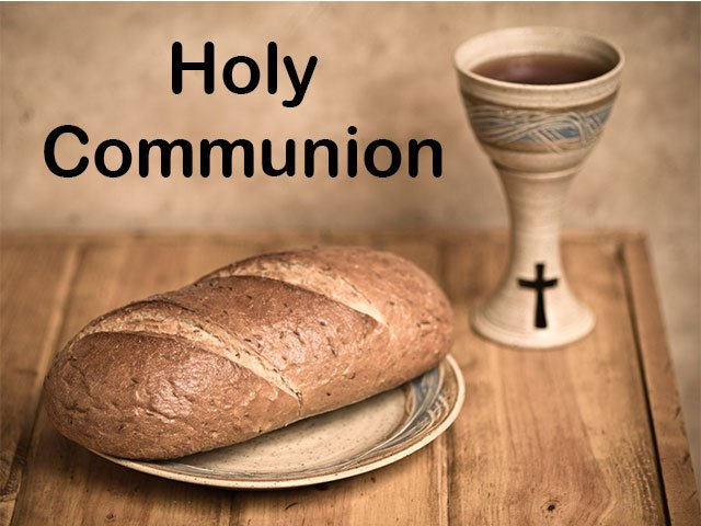 October 1st – Combined Service for World Communion Sunday