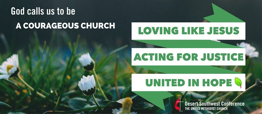 A Courageous Church: Acting for Justice